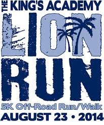TKA Lion Run 2014 Logo