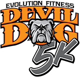 Devil Dog 5K White Background Logo
