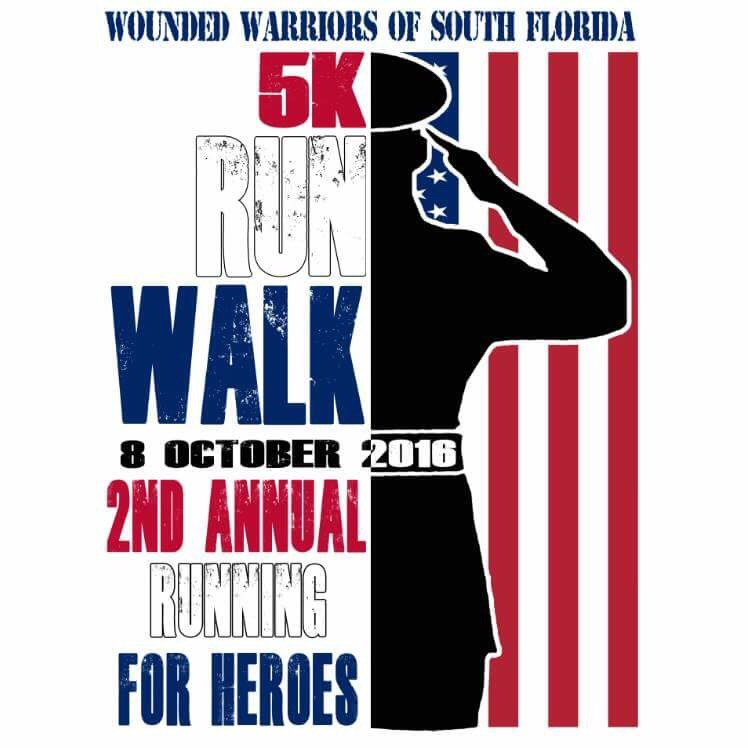 Wounded Warrior 5K 2016 Logo