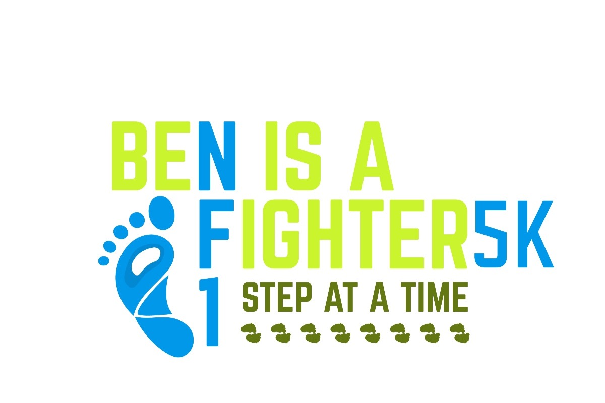 Ben is a fighter logo