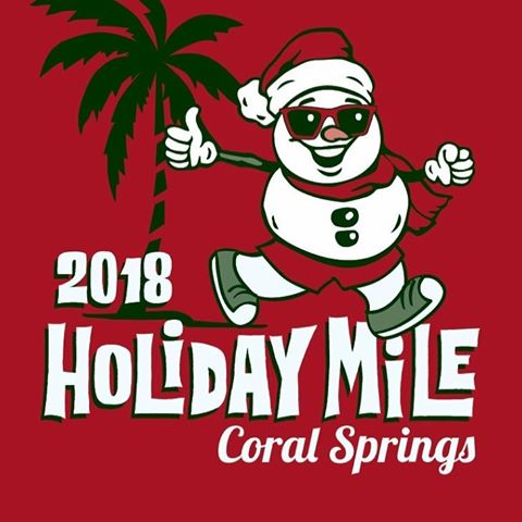 Coral Springs Holiday Mile 2018 Logo