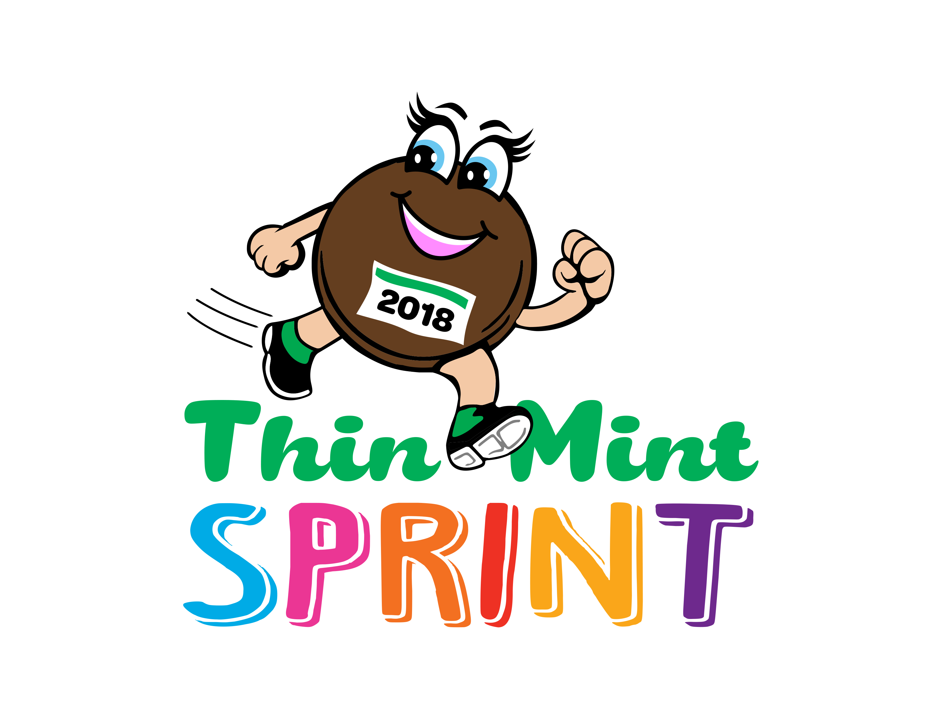 Thin Mint Sprint Logo 2018