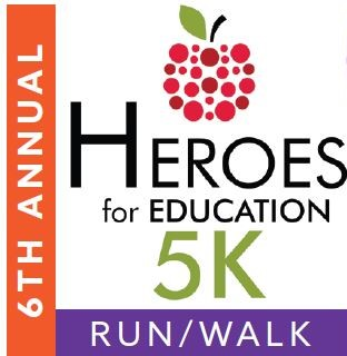 6th Annual Heroes 5K Logo